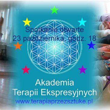Akademia Terapii Ekspresyjnych – spotkanie otwarte