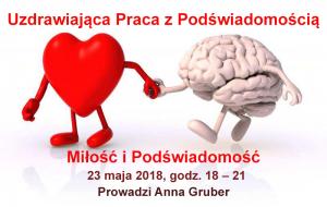 Uzdrawiająca Praca z Podświadomością - Miłość i Podświadomość @ Łódź, ul. Sienkiewicza 61