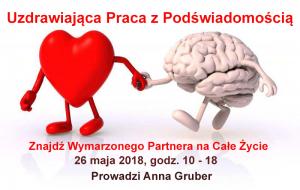 Uzdrawiająca Praca z Podświadomością - Znajdź Wymarzonego Partnera na Całe Życie @ Łódź, ul. Sienkiewicza 61