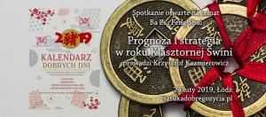 Feng Shui - Prognoza i Strategia w Roku Klasztornej Świni @ Łódź, ul. Sienkiewicza 61