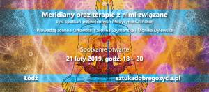 Meridiany oraz terapie z nimi związane @ Łódź, ul. Sienkiewicza 61
