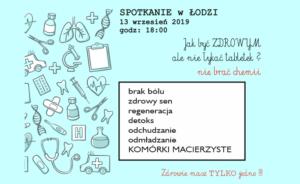 Zdrowie bez chemii @ Łódź, ul. Sienkiewicza 61