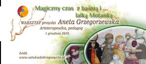 Magiczny czas z baśnią i lalką motanką @ Łódź, ul. Sienkiewicza 61