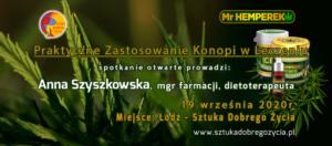 Praktyczne Zastosowanie Konopi w Leczeniu @ Łódź, ul. Sienkiewicza 61