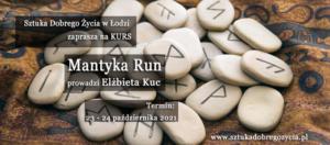 Kurs Mantyka Run @ Łódź, ul. Sienkiewicza 61