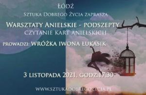 Warsztaty Anielskie – Podszepty @ Łódź, ul. Sienkiewicza 61
